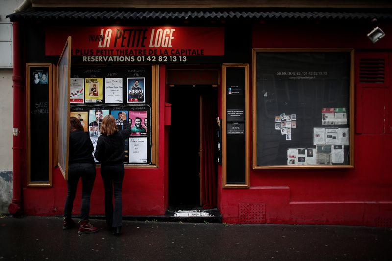 France says COVID-19 rates still too high to re-open cultural venues