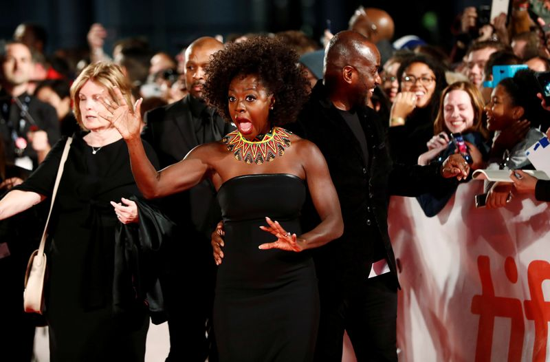 FILE PHOTO: Actor Viola Davis arrives for the world premiere of Widows at the Toronto International Film Festival (TIFF) in Toronto