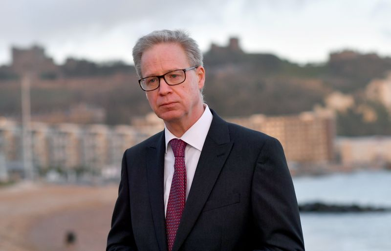 Portrait of Doug Bannister, CEO of the Port of Dover