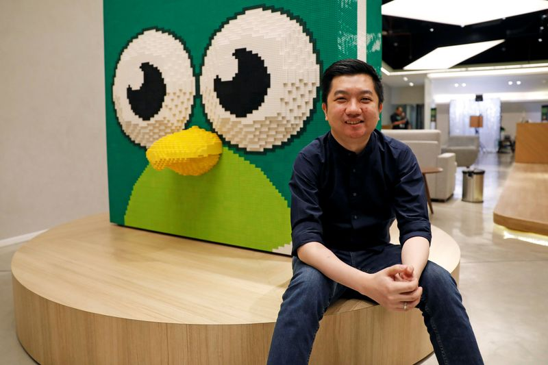 FILE PHOTO: Founder and CEO of Indonesian e-commerce firm Tokopedia, William Tanuwijaya, pictured at Tokopedia headquarters in Jakarta