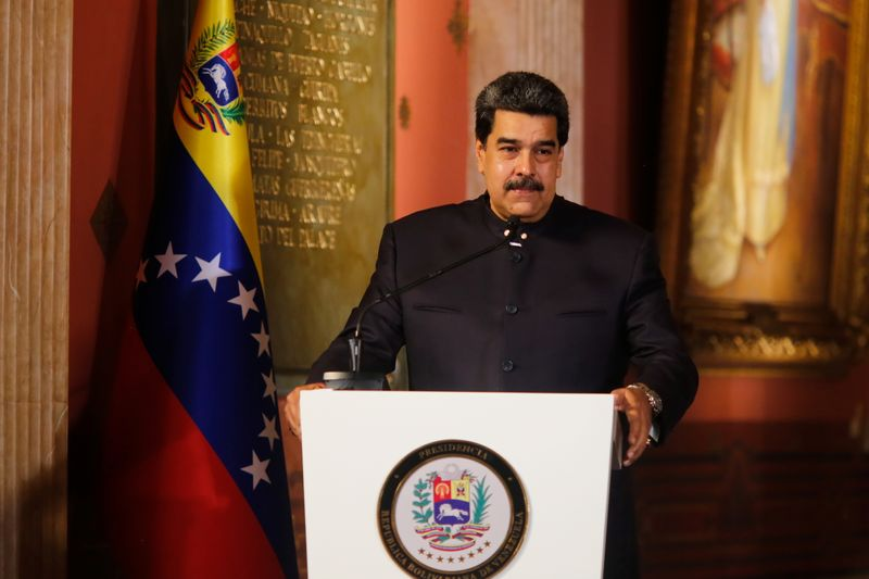 FILE PHOTO: Venezuela's President Nicolas Maduro speaks at the closing session of Venezuela's Constituent National Assembly in Caracas