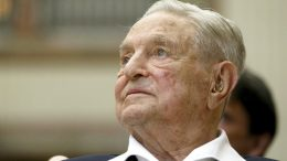 FILE - In this June 21, 2019 file photo, George Soros, founder and chairman of the Open Society Foundations, looks before the Joseph A. Schumpeter award ceremony in Vienna, Austria. (AP Photo/Ronald Zak, File)