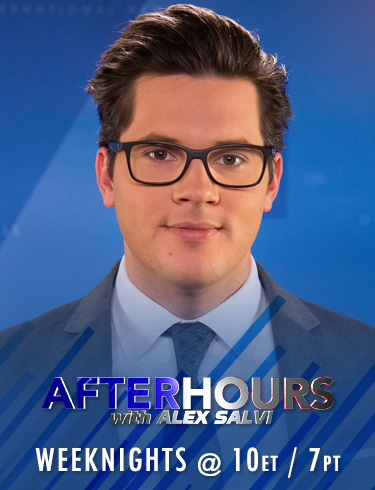 After Hours with Alex Salvi weeknights at 10pm ET/ 7pm PT