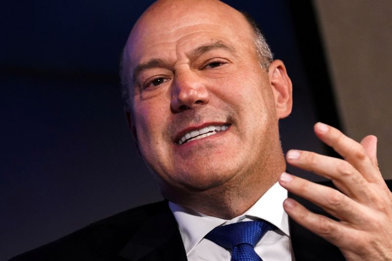 FILE PHOTO: Former Director of the U.S. National Economic Council Gary Cohn speaks at a Reuters Newsmaker event in New York City