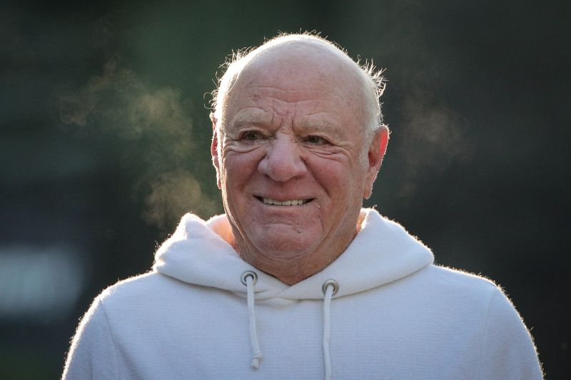 Barry Diller, Chairman and Senior Executive of IAC/InterActiveCorp and Expedia, Inc., attends the annual Allen and Co. Sun Valley media conference in Sun Valley, Idaho