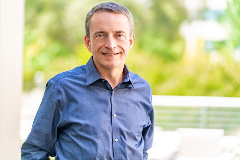 VMware CEO Pat Gelsinger poses in an undated photo