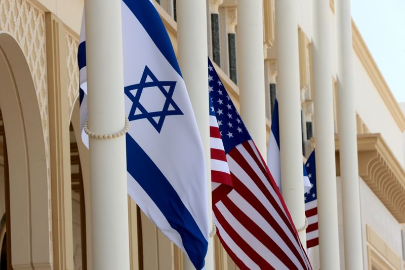 Israeli and U.S. officials fly to UAE to cement