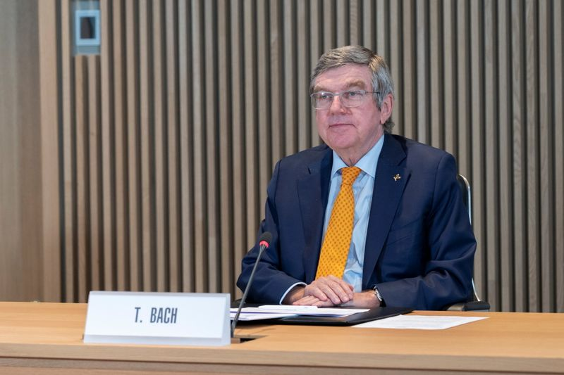 IOC President, Bach, hosts the first Executive Board meeting for 2021 in Lausanne