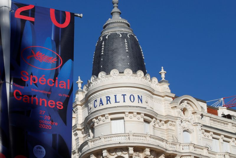 FILE PHOTO: Cannes hosts a 'special edition' of the 2020 Cannes film festival