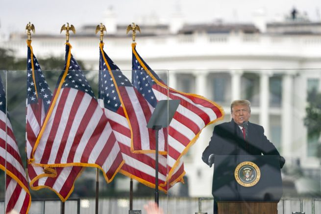 President Trump addresses supporters at 'Save America March'