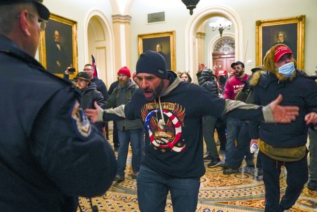 BLM-linked activist found inside Capitol during protest