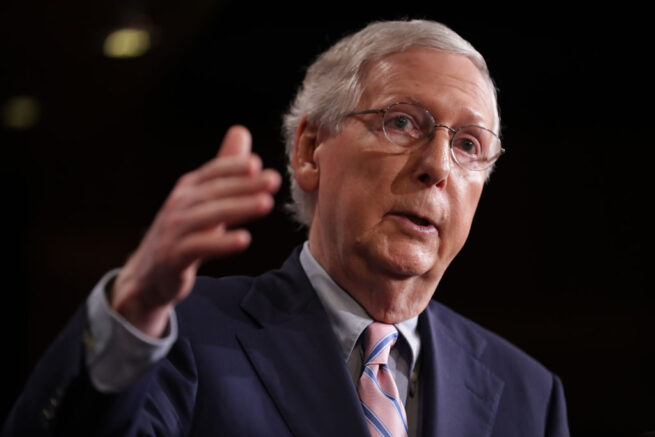 Sen. McConnell faces battle for minority party rights in Senate