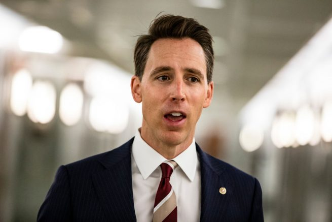 Sen. Hawley: It is a lie that I incited violence