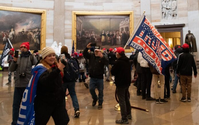 U.S. Capitol on lockdown amid protests