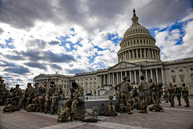 GOP members want Natl Guard to go home, new theory about Capitol riots