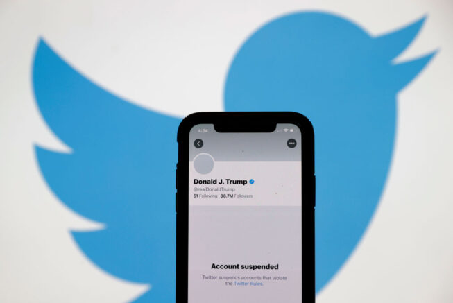 Twitter permanently bans President Trump's account