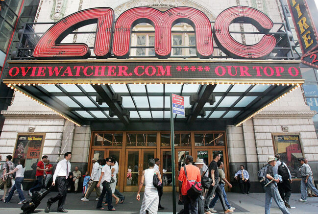 AMC rules out near-term bankruptcy, shares soar 40 per cent