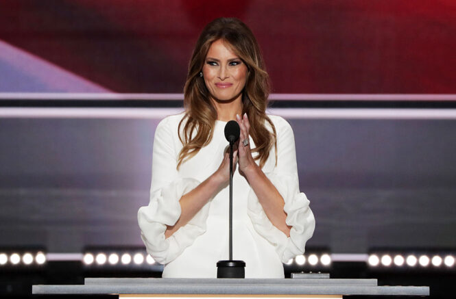 FLOTUS Melania gives farewell address, encourages Americans to 'Be Best'