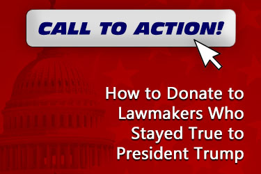 OAN Call to Action: How to Donate to Lawmakers Who Stayed True to President Trump