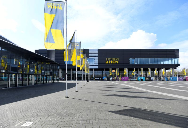 FILE PHOTO: General view of the concert hall Ahoy in Rotterdam