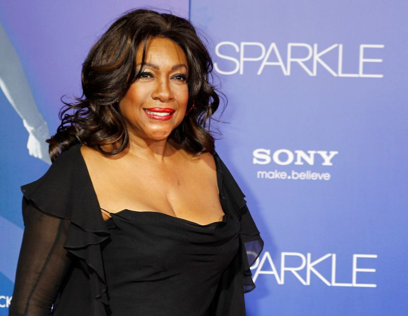 FILE PHOTO: Singer Mary Wilson, a founding member of the Motown female singing group The Supremes, arrives as a guest at the premiere of the new film