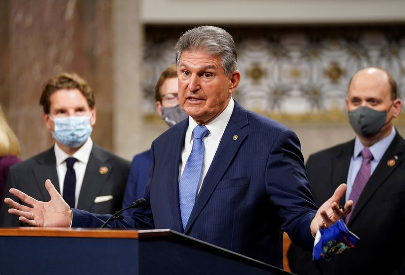 FILE PHOTO: FILE PHOTO: Bipartisan members of the Senate and House announce coronavirus relief legislation framework at news conference on Capitol Hill in Washington