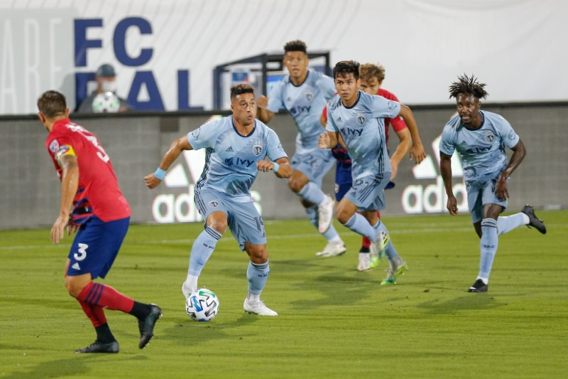 MLS: Sporting Kansas City at FC Dallas