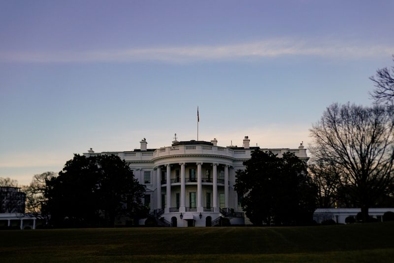 FILE PHOTO: The White House is seen in Washington