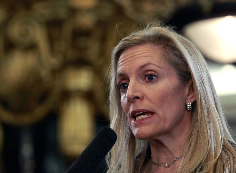 U.S. Treasury Under Secretary for International Affairs Brainard delivers a speech in Moscow