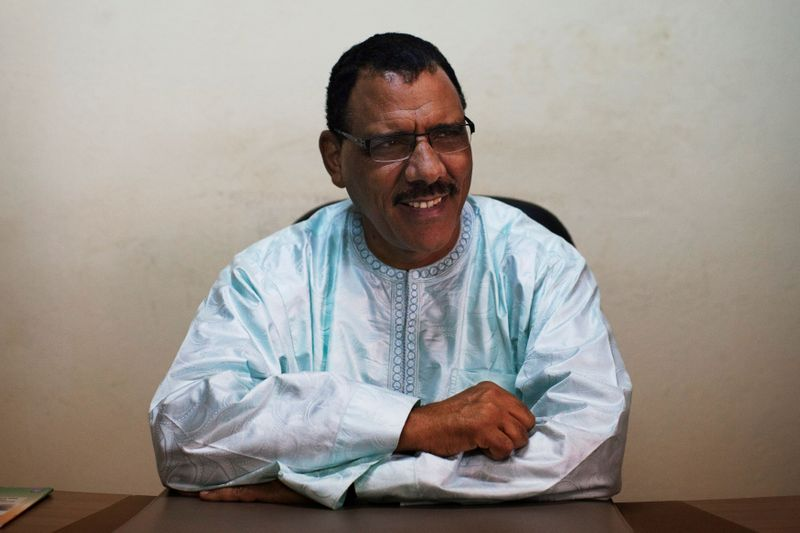 FILE PHOTO: Niger's Mohamed Bazoum pictured Sept 14, 2013
