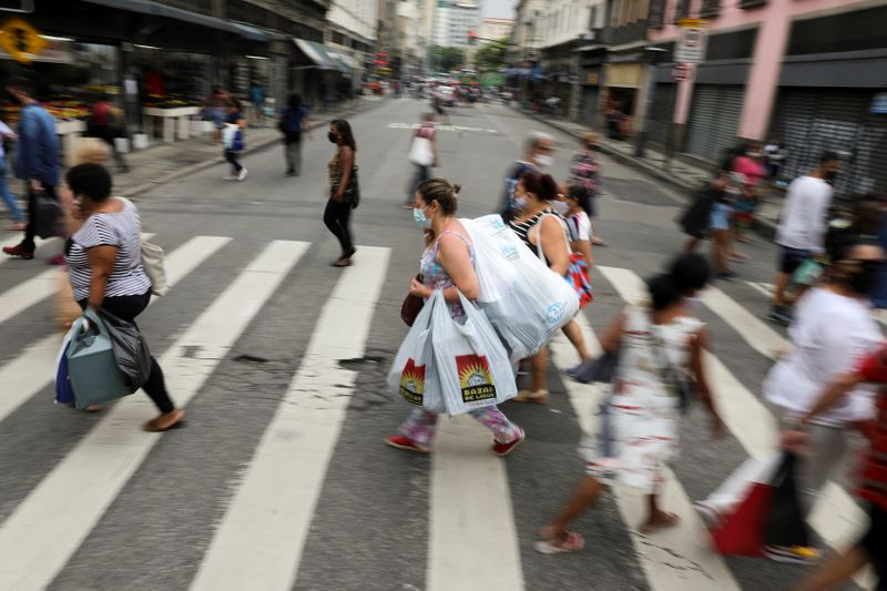 FILE PHOTO: Outbreak of the coronavirus disease (COVID-19) in Rio de Janeiro