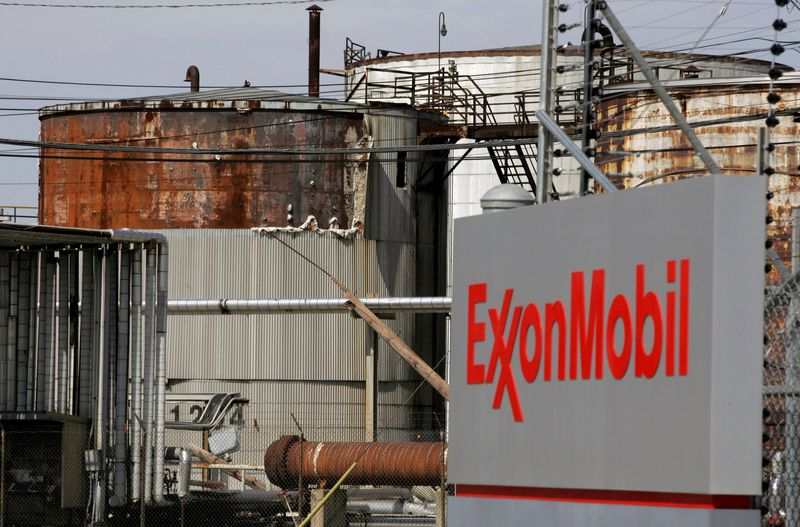 FILE PHOTO: FILE PHOTO: View of the Exxon Mobil refinery in Baytown, Texas
