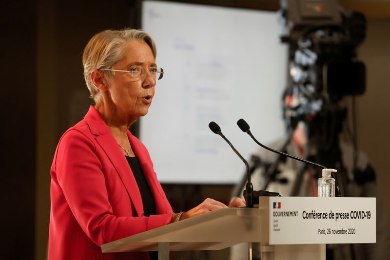 News conference on easing the coronavirus disease (COVID-19) restrictions, in Paris
