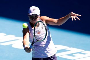 Barty party over in Australia amid doubts over top ranking