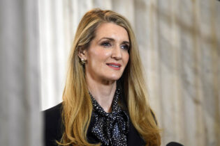 Sen. Kelly Loeffler this week launched a new $4 million ad campaign highlighting ways she's used her wealth for Covid aid efforts in her state. (Susan Walsh/AP Photo)
