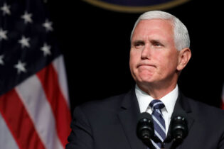 ARLINGTON, VA - AUGUST 09: Mike Pence announced the Trump administration's plan to create the U.S. Space Force by 2020 during a speech at the Pentagon August 9, 2018 in Arlington, Virginia. (Photo by Chip Somodevilla/Getty Images)