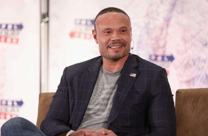 LOS ANGELES, CA - OCTOBER 20: Dan Bongino speaks onstage during Politicon 2018 at Los Angeles Convention Center on October 20, 2018 in Los Angeles, California. (Photo by Rich Polk/Getty Images for Politicon)