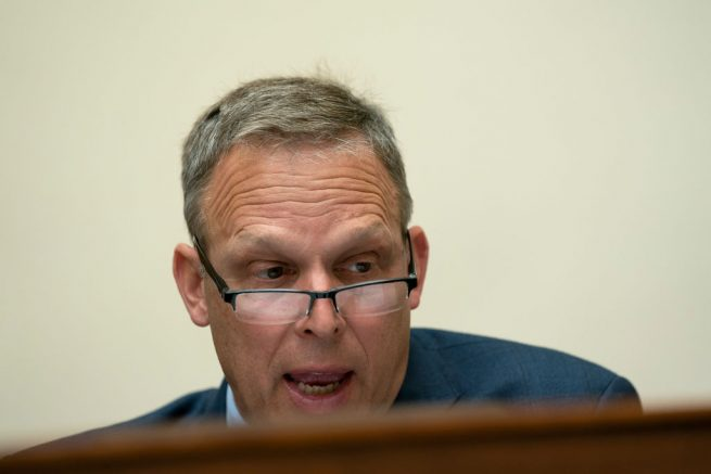 WASHINGTON, DC - SEPTEMBER 16: Representative Scott Perry, (R-FL) speaks during a House Foreign Affairs Committee hearing on September 16, 2020 in Washington, DC. The hearing is investigating the firing of State Department Inspector General Steve Linick. (Photo by Stefani Reynolds-Pool/Getty Images)