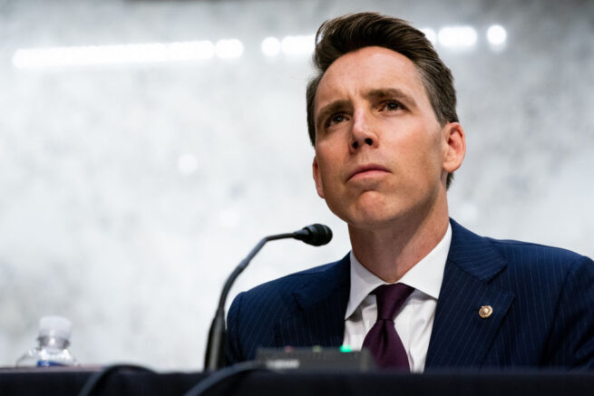 Sen. Hawley: We're not going to back down to the woke mob