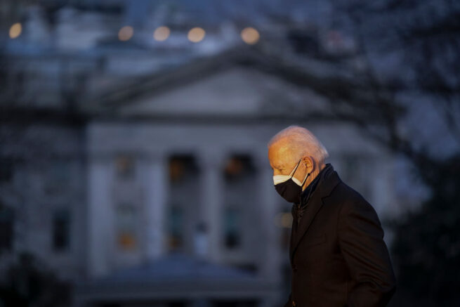 25 asylum seekers granted U.S. entry under Biden