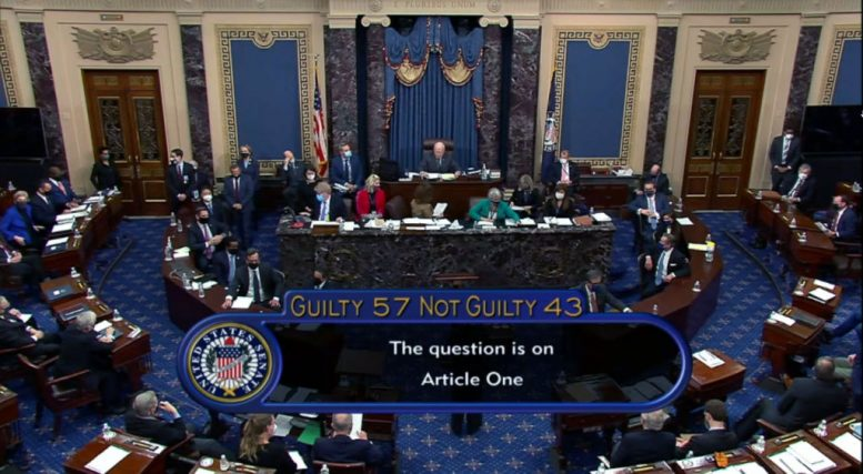 Senate votes to acquit 45th President Donald J. Trump