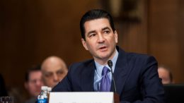 WASHINGTON, D.C. - APRIL 05: FDA Commissioner-designate Scott Gottlieb testifies during a Senate Health, Education, Labor and Pensions Committee hearing on April 5, 2017 at on Capitol Hill in Washington, D.C. (Photo by Zach Gibson/Getty Images)