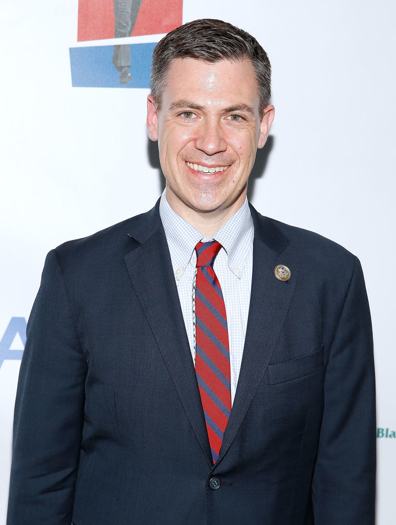 Rep. Jim Banks (R-IN) arrives at the American Visionary: John F. Kennedy's Life and Times debut gala at Smithsonian American Art Museum on May 2, 2017 in Washington, DC. (Photo by Paul Morigi/Getty Images for WS Productions)