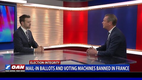 Mail-in ballots and voting machines banned in France