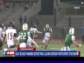 California allows youth sports to return.