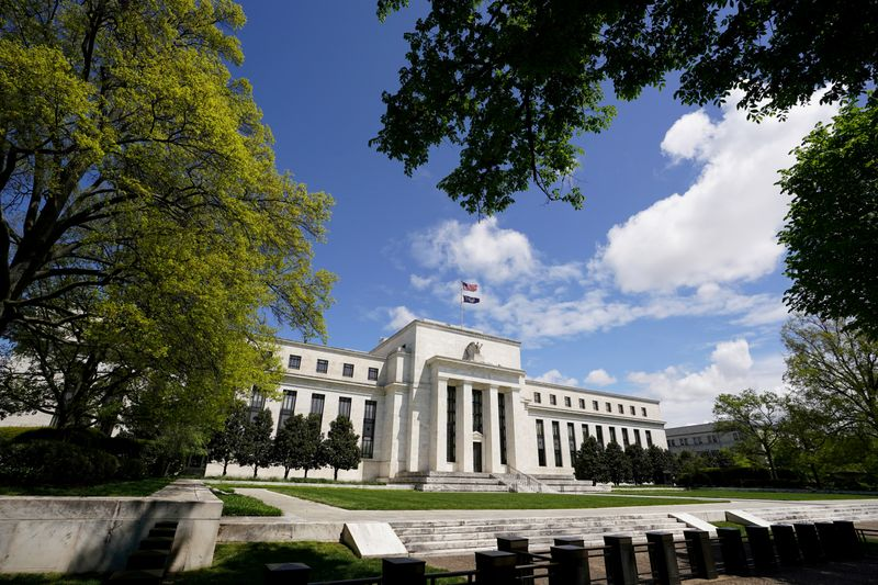 FILE PHOTO: The Federal Reserve in Washington