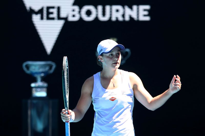 FILE PHOTO: Australian Open