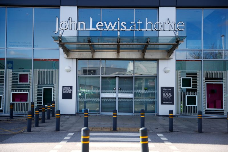 View of a 'John Lewis at home' store in Chester