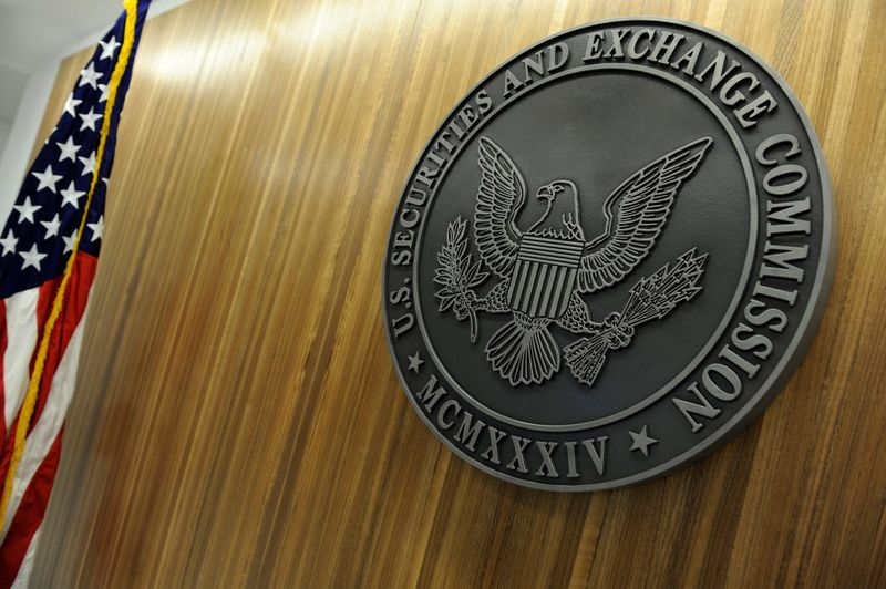FILE PHOTO: The seal of the U.S. Securities and Exchange Commission
