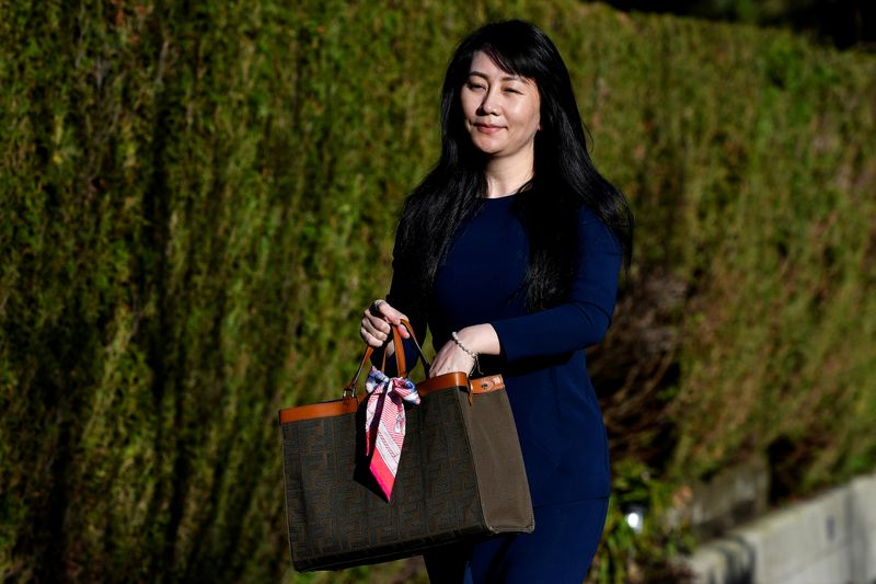 FILE PHOTO: Huawei Chief Financial Officer Meng Wanzhou to attend a court hearing in Vancouver